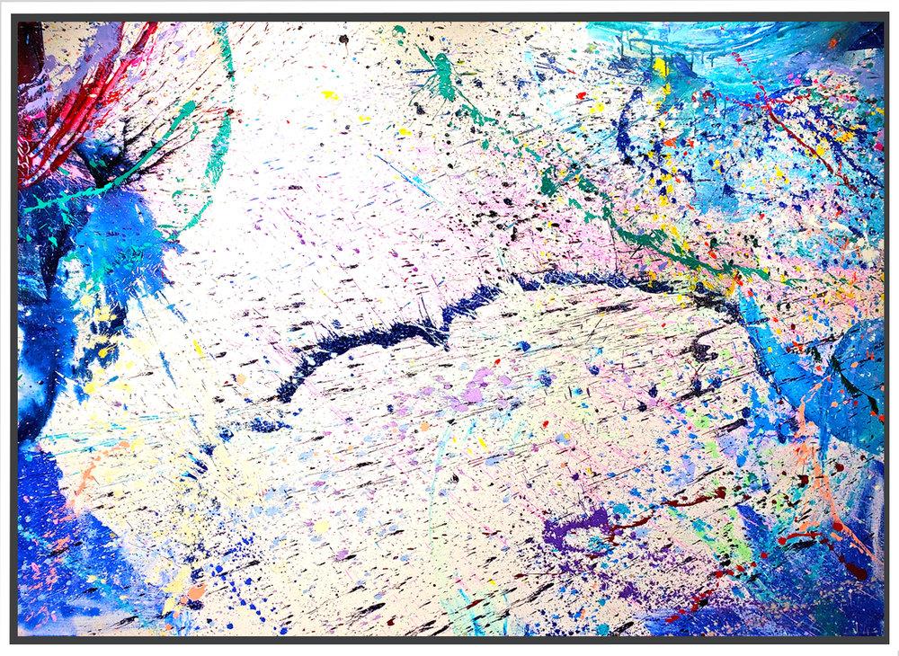 "Napa Valley #77, 2019, acrylic on canvas, 60"" x 84"" (152.4 x 213.4 cm)"