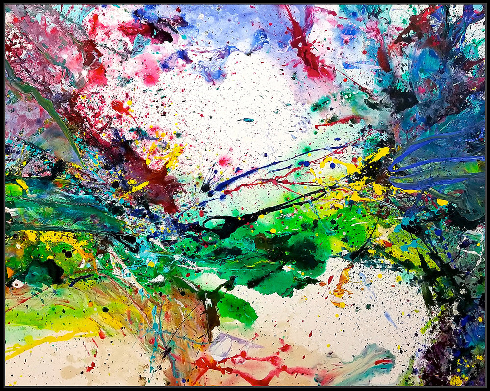 "Mars #7, 2017, acrylic on canvas, 60"" x 48"" (152.4cm x 122 cm)"