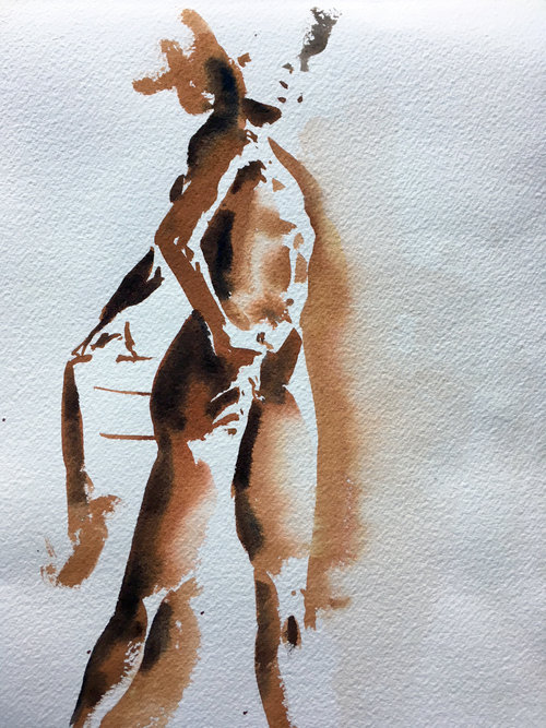 Ive Recently Started Figure Painting From Live Models On A Weekly Basis This Is First For Me But Im Very Excited To Be Pushing Into New Territory