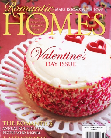ROMANTIC HOMES FEBRUARY 2009