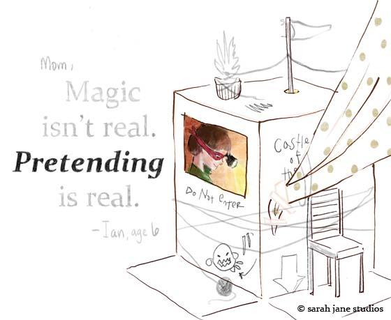 pretending-is-real
