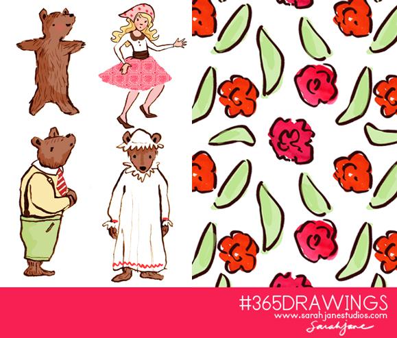 3 bears line