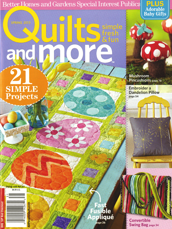 quilts and more cover web