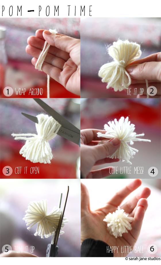 make a pom pom