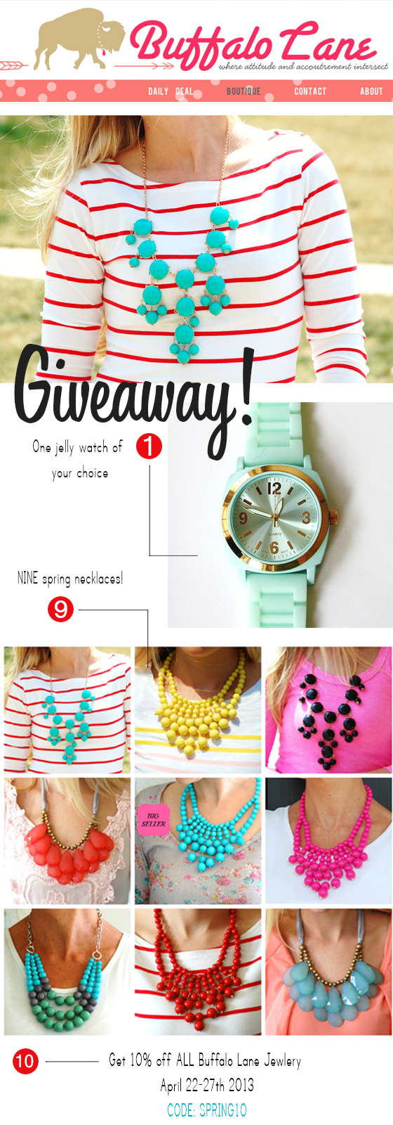 buffalo lane giveaway