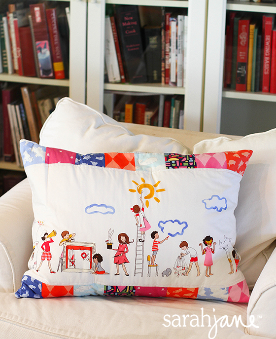 panel pillow blog