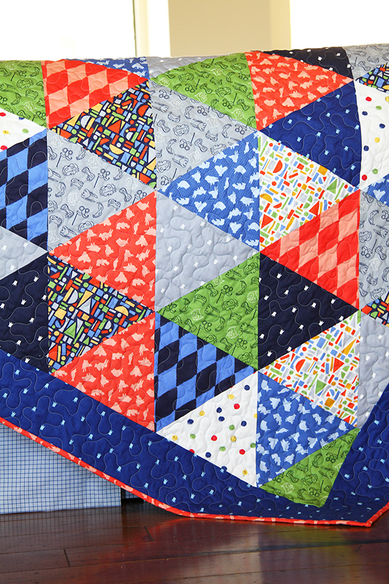 Quilt Designs With Triangles : Triangle Quilt Tutorial Sarah Jane Studios