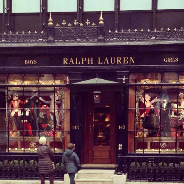 London Ralph Lauren Store Sarah Jane