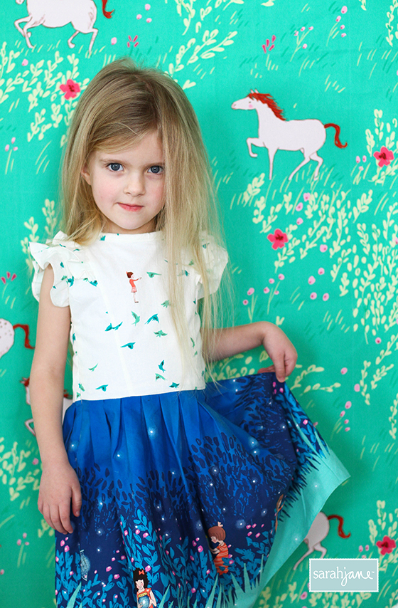 08471d108 WEE WANDER DRESS Pattern  Free PDF — Sarah Jane Studios