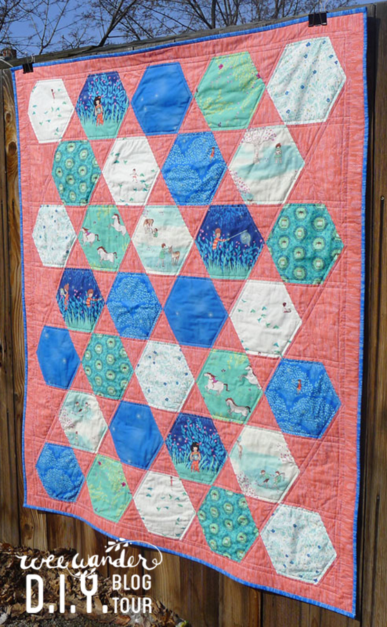 hexagon quilt blog