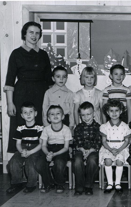 kindergarten crop