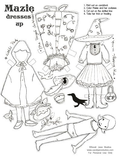 Kid\'s Halloween Crafts — Sarah Jane Studios