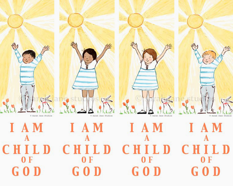 CHILD OF GOD BOOKMARKS