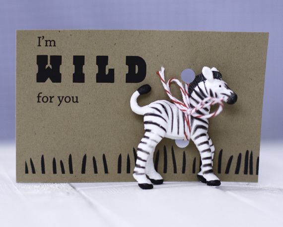 I'M WILD FOR YOU VALENTINES