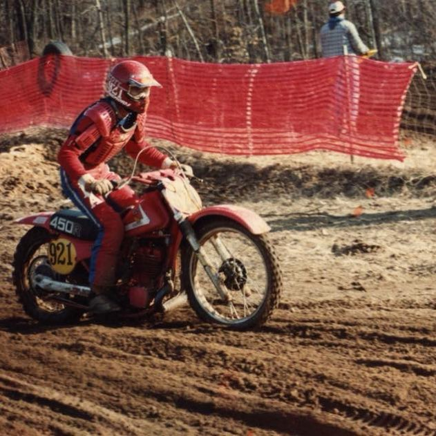 Vintage MX racing at Bulldogs MC. #vintage #moto #motocross #mx #sand #honda #cr #racing #motorsport
