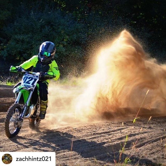 Posted @withrepost • @zachhintz021 Can't wait until spring @bulldogsmxtrack #flyracing #ridedunlop #ride100percent