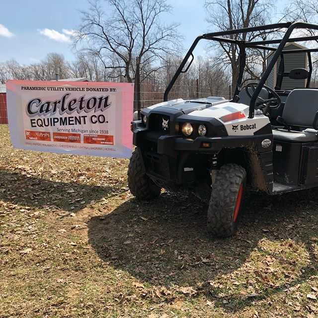 @carletonequipment for the win! Paramedics were riding in style this weekend.