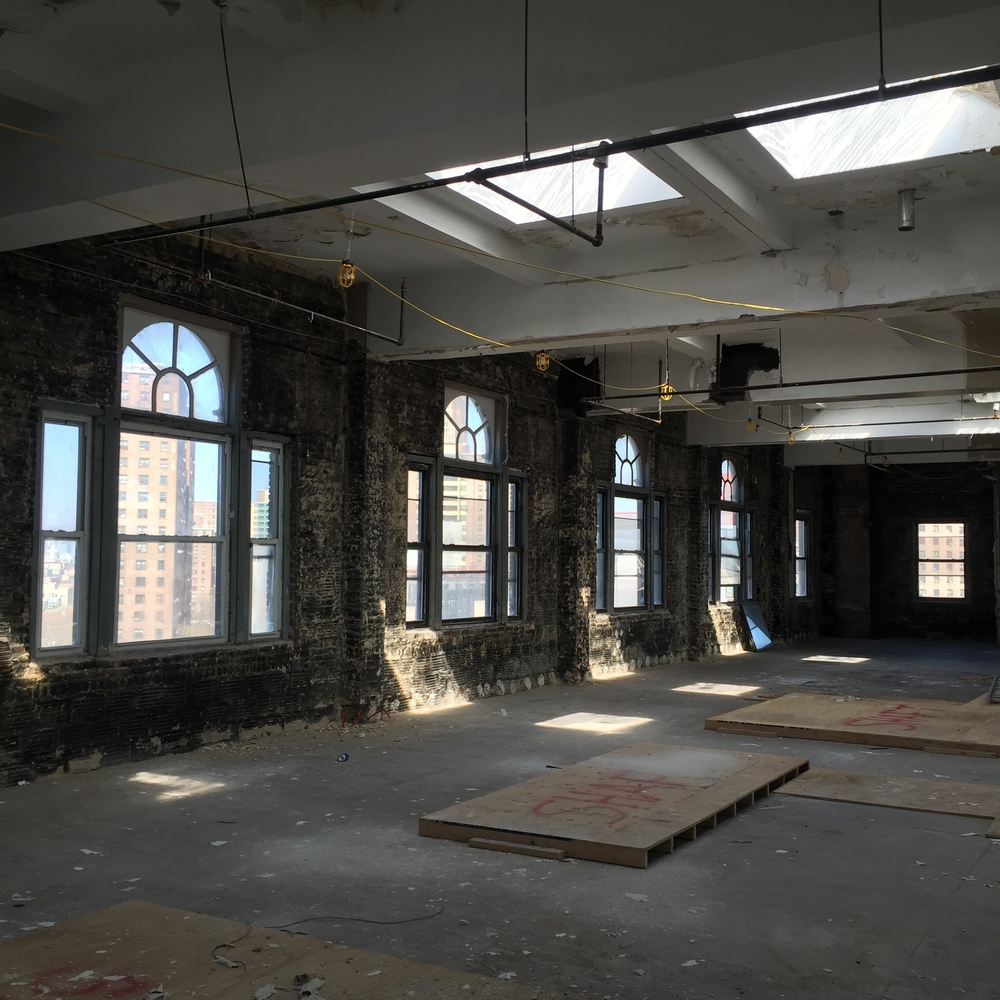 815 Broadway, Brooklyn, NY - A former turn of the century era bank building that will soon house creative folks.