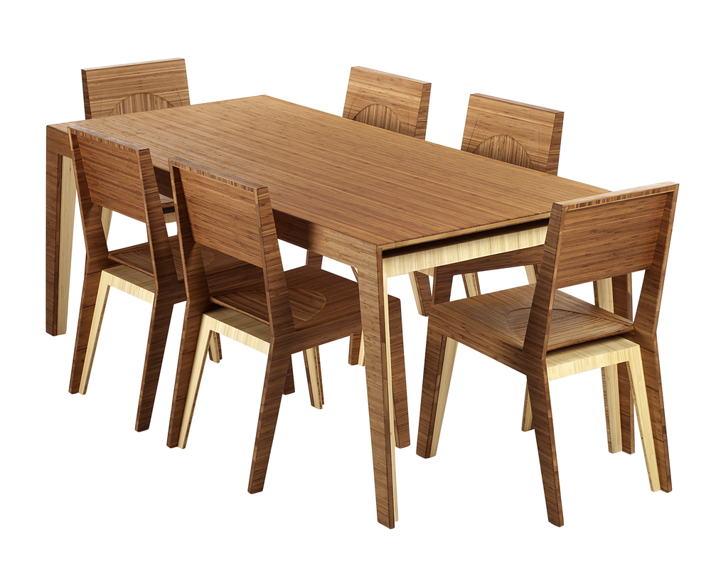 Hollow Dining Table / 6 Person