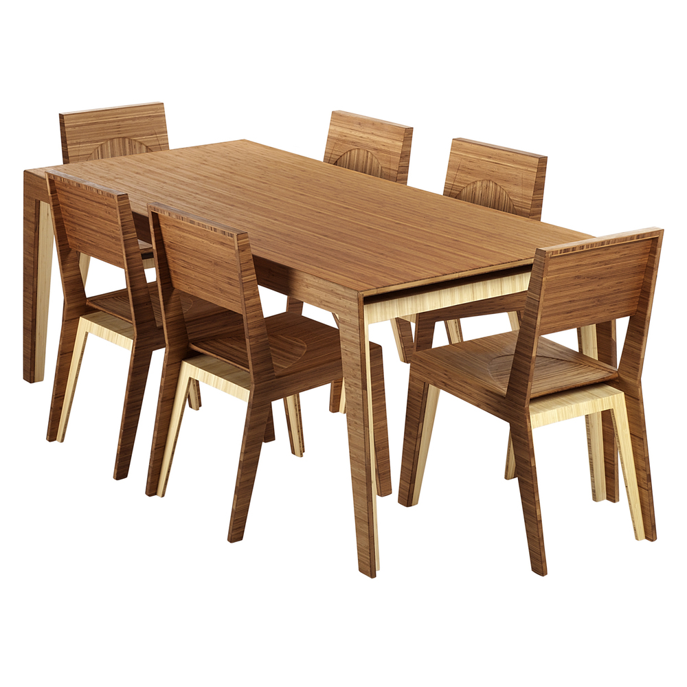 Hollow dining table 6 person brave space design for Table 6 handbook 44