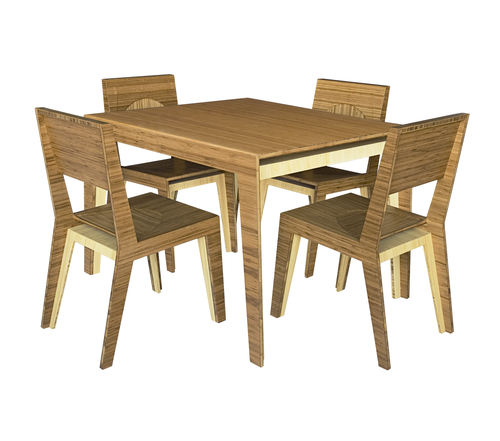 Hollow Dining Table / 4-Person — Brave Space Design