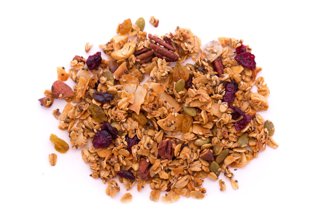 Our classic flavor, but there's nothing ordinary about it! Our granola is filled with all-natural ingredients and provides long lasting energy, so it's   perfect for breakfast or snacking every day.