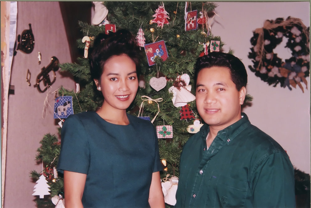 Peter Lacanienta and his wife Kynna