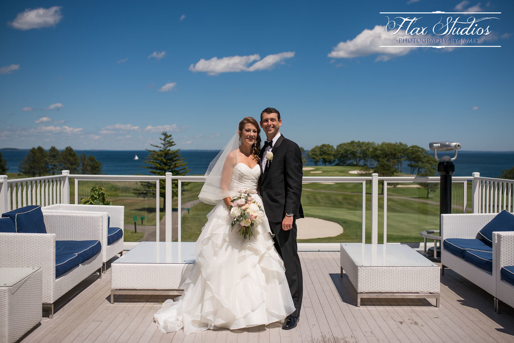 Samoset Deck Wedding Photo