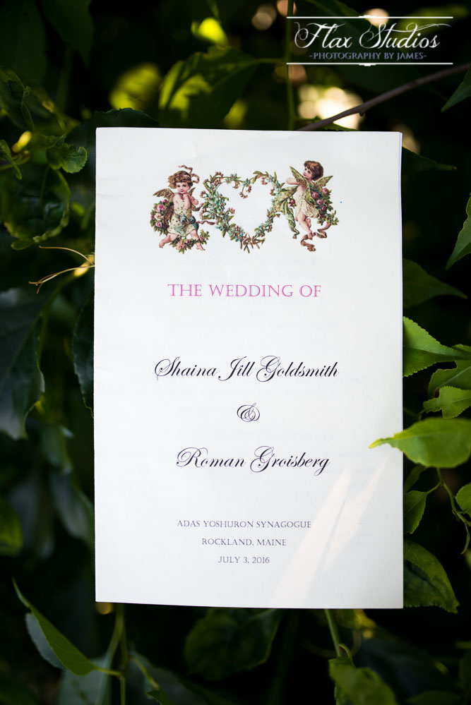 Wedding Program Details