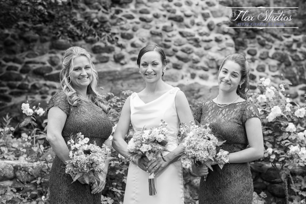 Bride and Bridesmaids Photos Rockport Maine