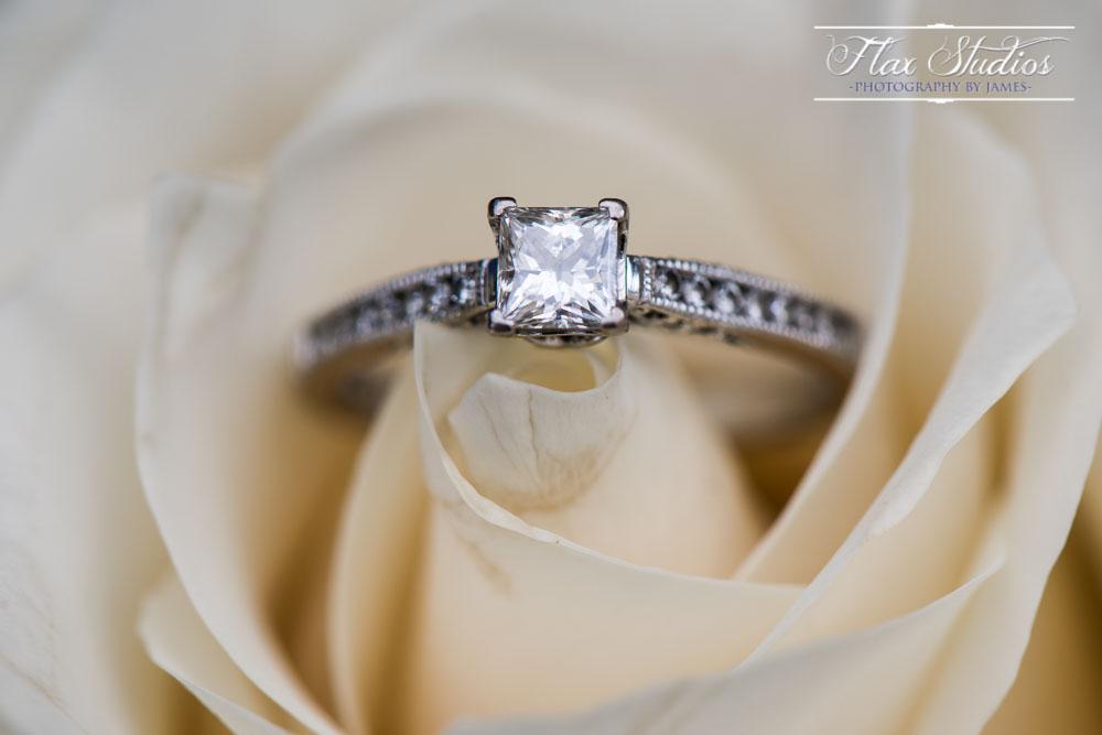Wedding Ring Shot Flax Studios