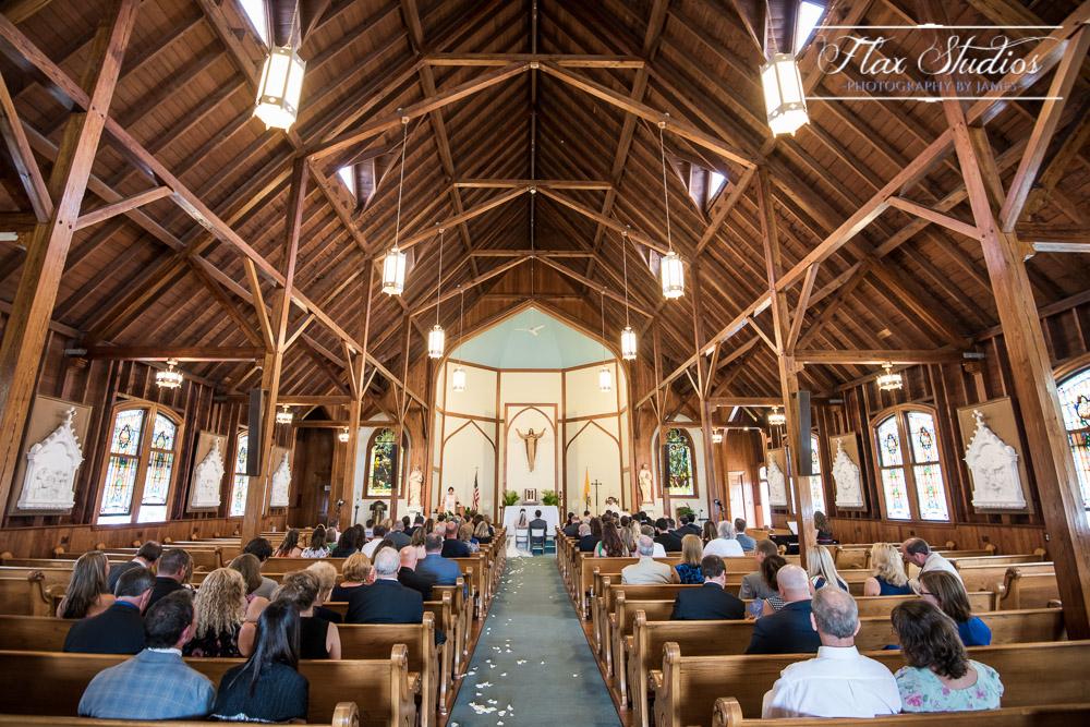 Our Lady of Queen Peace Wedding Photographer