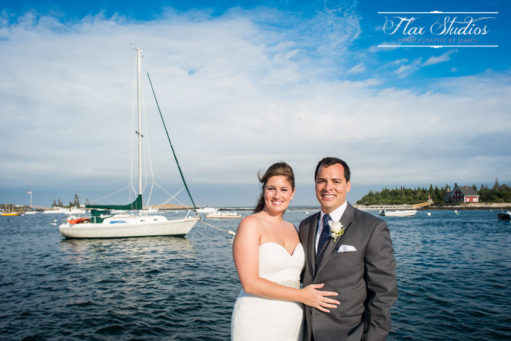 Newagen Seaside Inn Oceanfront Wedding