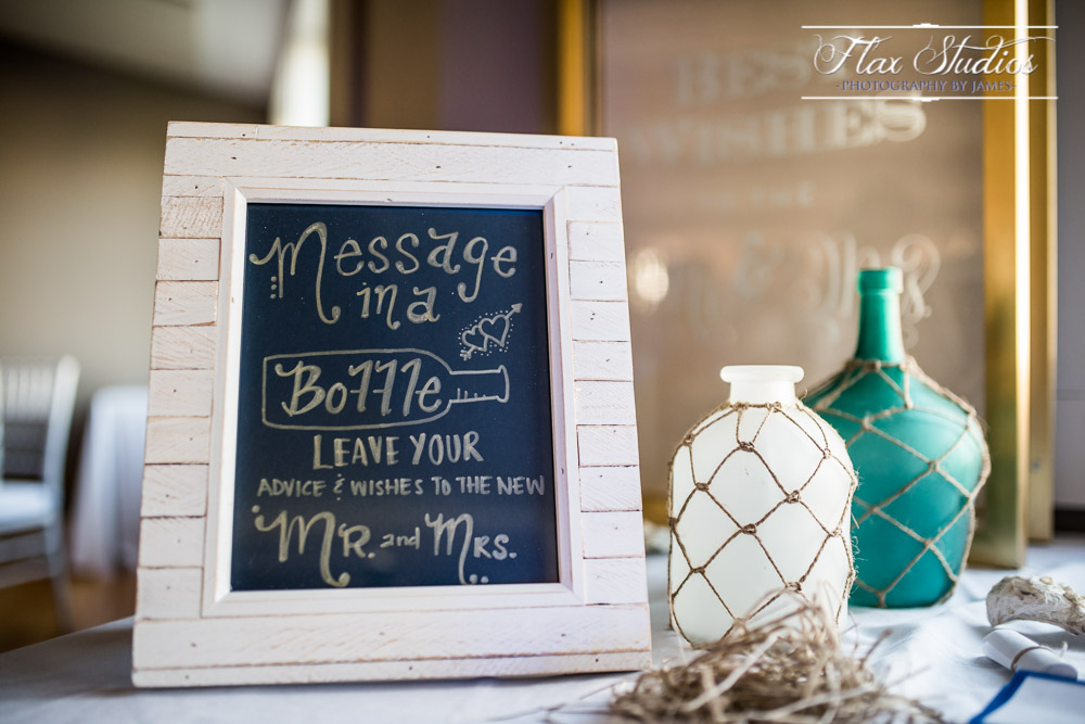 Wedding Decoration Details Message In A Bottle