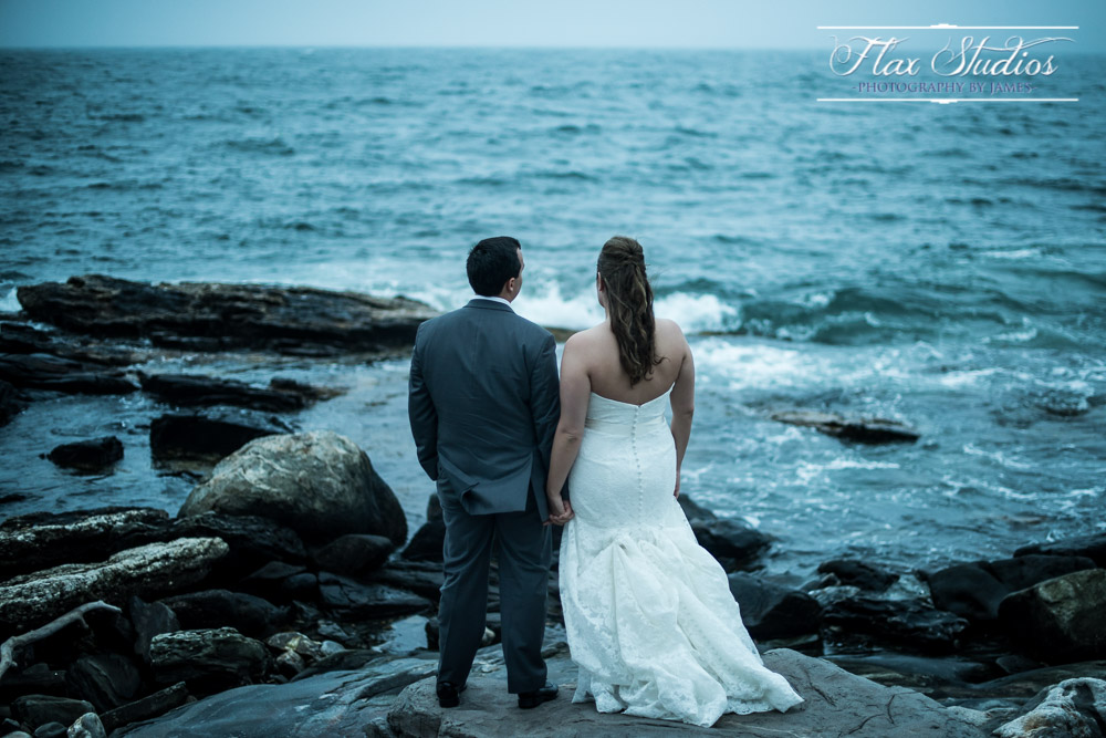 Newagen Wedding Photographer Boothbay Maine Flax Studios