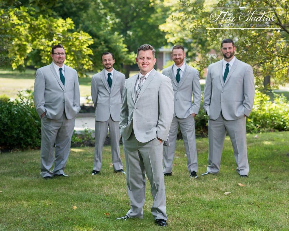 Groomsmen photos Art School