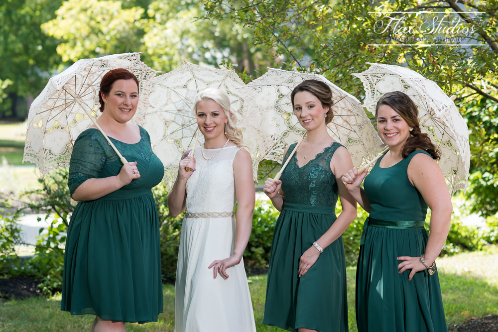 Wedding Parasols Flax Studios