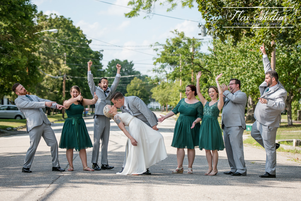 Bridal Party Photos NH