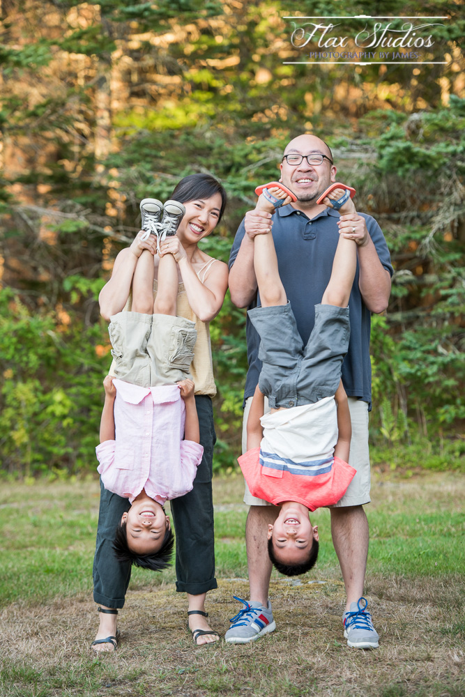 Fun Family Photo Ideas Maine Flax Studios