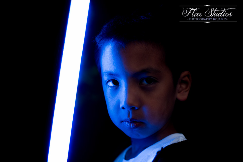 Star Wars Lightsaber Portrait Flax Studios