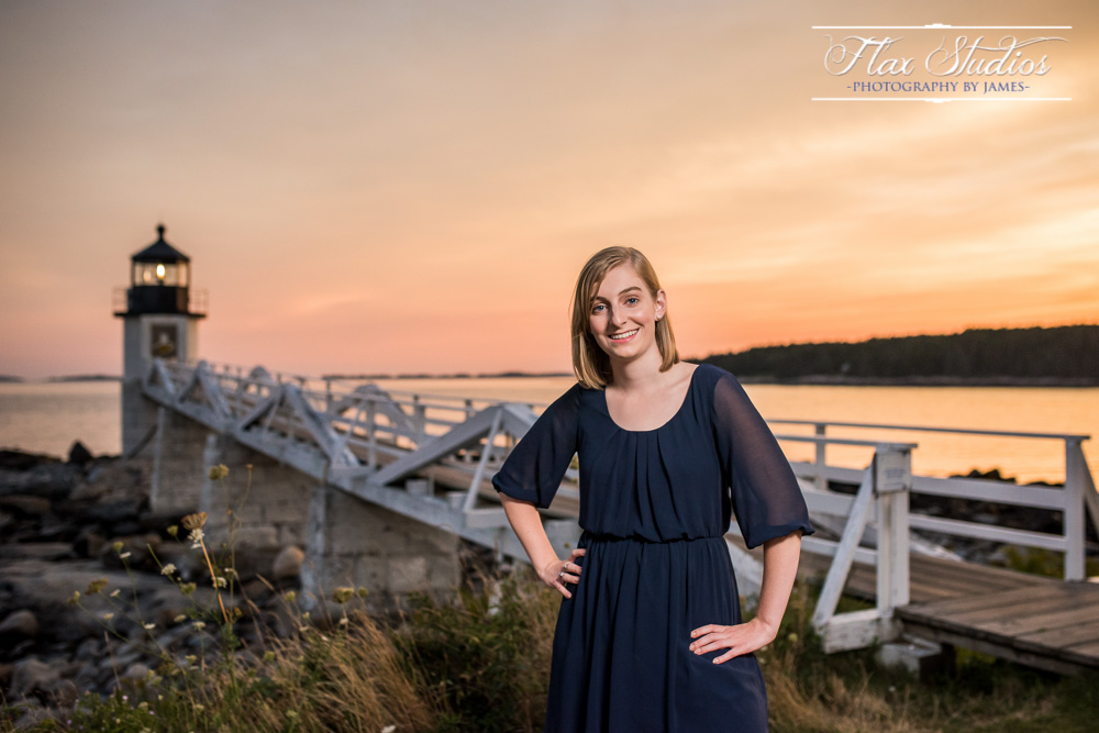 Flax Studios Maine Senior Portrait Photographers