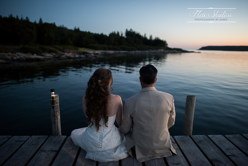 fishing dock wedding portraits flax studios