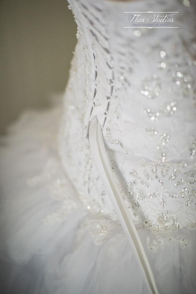 Bridal gown laces