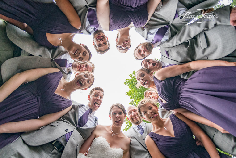 Fun bridal party photo ideas