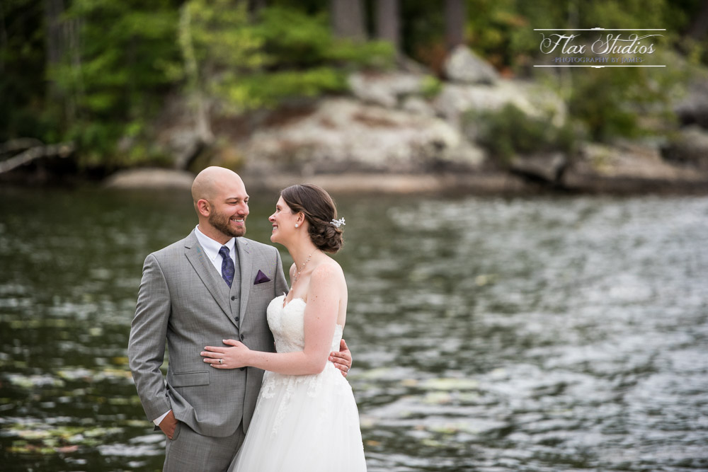 Alamoosook Lakeside Inn Wedding Photos