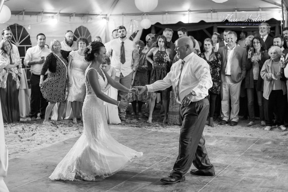 Daddys first dance