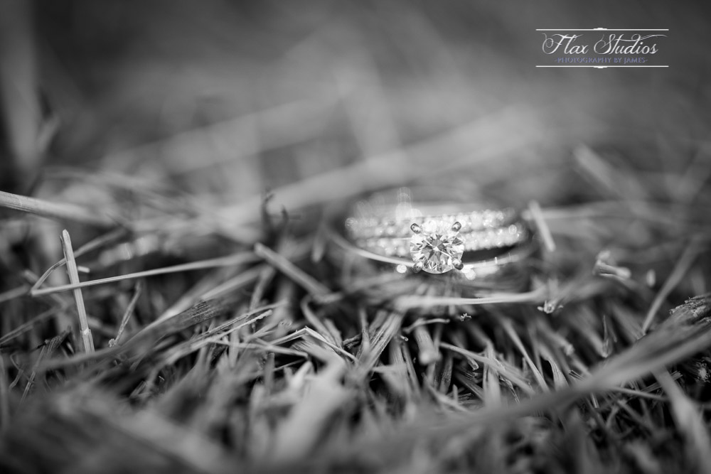 Wedding ring macro shots