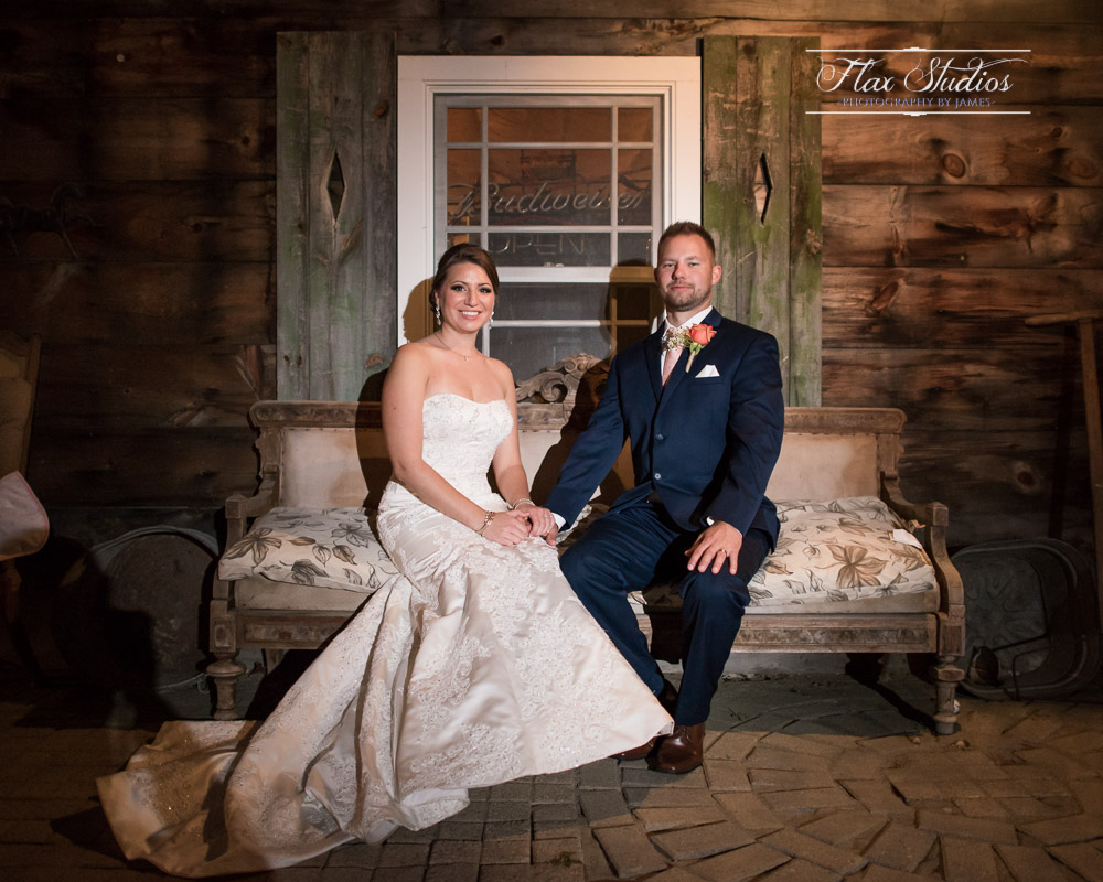 Rustic old fashioned wedding portraits