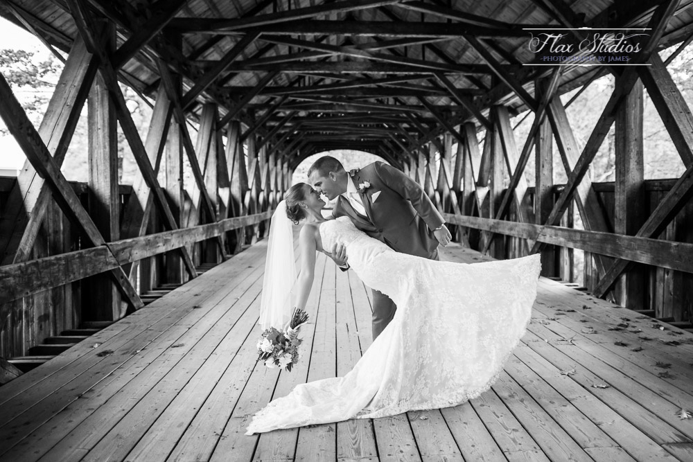 Sunday River Covered Bridge Wedding
