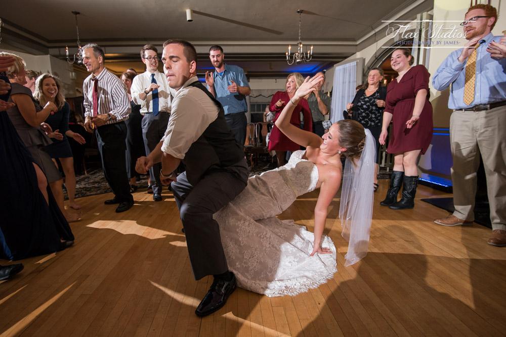 Fun dance floor photos